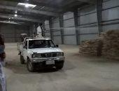 محافظ المنيا: توريد 187 ألف طن من القمح للصوامع والشون وتطهير وتعقيم المواقع