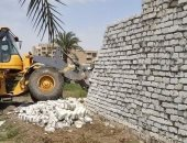 صور.. إزالة 22 حالة تعد على أرض زراعية بقرى ومراكز بنى سويف