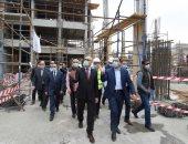 رئيس الوزراء يتفقد أعمال التطوير بمثلث ماسبيرو