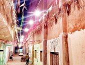 """بهجة رمضان.. """"محمد"""" يشارك بصورة تزيين شارع مدرسة النجاح بالوراق"""