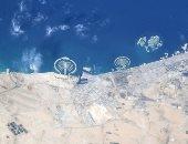 """""""من بره الأرض"""".. رائد فضاء يلتقط صورا لمدينة دبى من محطة الفضاء الدولية"""