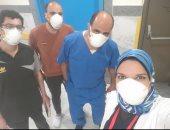 ارتفاع عدد حالات الشفاء من كورونا بمستشفى العجمى بالإسكندرية لـ81 حالة