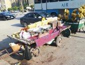 سكان زهراء مدينة نصر يشكون انتشار الباعة الجائلين بمساكن وشارع الميثاق