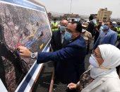 رئيس الوزراء يتفقد أعمال التطوير بمنطقة عين الصيرة