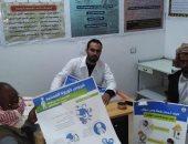 """صور.. صحة شمال سيناء تنفذ حملة توعية بفيروس كورونا بقرية """"وادى الحاج"""""""