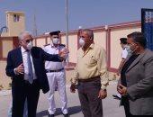 صور.. محافظ جنوب سيناء يتفقد مشروعات خدمية وتنموية برأس سدر