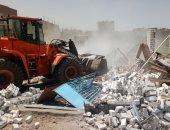 إزالة 11 مخالفة بناء  فى حملة مكبرة بشبين القناطر