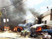قتلى وجرحى فى انفجار صهريج مفخخ بأحد الأسواق بمدينة عفرين