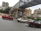 استجابة لصحافة المواطن.. إنشاء كوبرى للمشاة فى شارع أبو بكر الصديق بمصر الجديدة