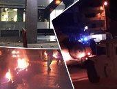 بث مباشر.. اشتباكات بين الأمن والمتظاهرين فى لبنان