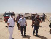محافظ المنيا: استرداد 150 فدان بالطريق الصحراوى الشرقى بمركز ملوى