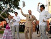 ولى عهد بريطانيا ودوقة كورنوال يحتفلان بيوم الرقص العالمى.. صور
