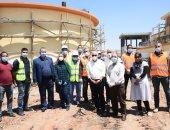 محافظ بورسعيد يشدد على ارتداء جميع العاملين بالمشروعات للكمامات الواقية