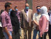 نائب محافظ القليوبية تتفقد المشروعات الجارية والمتعثرة بمدينة قليوب