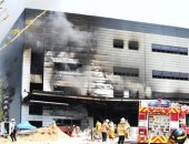 قتلى وجرحى فى حريق بموقع بناء بكوريا الجنوبية
