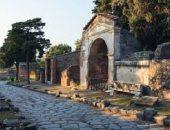 شاهد.. اكتشاف جديد لـ شوارع ومنازل من مدينة بومبى الرومانية القديمة