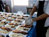 خليك فى البيت وإفطارك هيوصلك.. متطوعون يوفرون الأفطار للمحتاجين بدمياط.. صور
