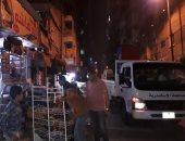 وحدة التدخل السريع تشن حملة مسائية لضبط مخالفات خرق الحظر شرق الإسكندرية