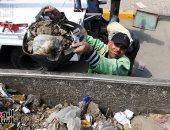 """""""عمال النظافة """" .. الإيد الشقيانة  في نهار رمضان"""