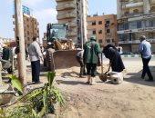 نقل 6005 متر مكعب قمامة للمدفن الصحى وتجميل وتطهير المدن بالشرقية