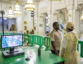 شاهد طرق رصد رئاسة الحرمين لمصابى كورونا خلال زيارتهم للمسجد الحرام