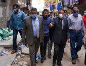 صور.. محافظ الإسكندرية يعلن تطوير منطقة الدخيلة بتكلفة 86 مليون جنيه