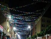 """بهجة رمضان.. """"وليد"""" يشارك صورة تزيين شارع المستشفى بدشنا بقنا"""
