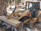 رفع 10 طن من الأتربة والمخلفات بقرى مركز المنشاة بسوهاج