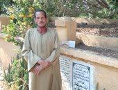حارس مقبرة الشهيد خالد مغربى: يوم تشييع الجثمان كان عيد وروائح طيبة تفوح منه
