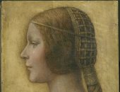 """هل رسم ليوناردو دافينشى لوحة """" الأميرة الجميلة """" أم قلد أحدهم أسلوبه؟"""