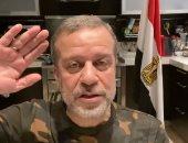 """الشعب المصرى كله جيش.. شريف منير ينعى شهداء بئر العبد ويرتدى """"المموه"""""""