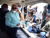 محافظ بورسعيد: الانتهاء من تطهير 84% من بحيرة المنزلة.. صور