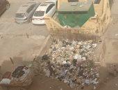 شكوى من تواجد مقلب للقمامة مجاور لمستودع غاز فى الشارع الجديد بعزبة النخل