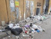 شكوى من تراكم القمامة فى شارع حسن محمد  بالهرم فى الجيزة