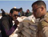 كواليس مواجهة محمد إمام للإرهابيين فى سيناء بمسلسل الاختيار.. فيديو وصور