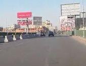 فيديو.. انتظام حركة المرور على كوبرى أكتوبر فى الاتجاهين