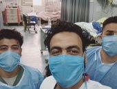 قسم الرعاية المركزة فى مستشفى الزيتون بالقاهرة على خط المواجهة ضد كورونا