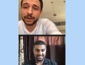 فيديو.. ولى العهد الأردنى يجرى مكالمة فيديو مع عامل لتهنئته بعيد العمال