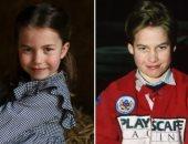 من شابه أباه فما ظلم.. الأميرة شارلوت صورة طبق الأصل من الأمير وليام