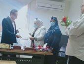 القومى للمرأة بشمال سيناء فى زيارة تضامنية لمستشفى العريش ..صور