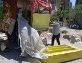 صور.. تنفيذ 10 قرارات إزالة شرق مدينة نصر وفتح جراجات مغلقة