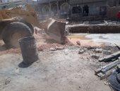 محافظ أسيوط: تنفيذ 2502 إزالة خلال شهر واستمرار أعمال الرش والتطهير