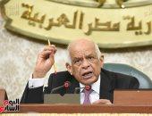 رئيس البرلمان : من يشعر بأى أعراض كورونا يلتزم منزله وهنقوله متشكرين