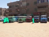 سكان ميدان نقطة الشرق بطما فى قنا يناشدون نقل الموقف من وسط الكتلة السكنية