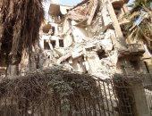 محافظ القاهرة: عقار مصر الجديدة المنهار خالى من السكان ولم يسفر عن إصابات