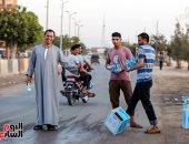 طعام وعصائر ومياه للمسافرين على الطرق فى رمضان