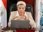 وزيرة البيئة: تقطيع الكمامة والجوانتى يقطع الطريق على التجارة غير الشرعية