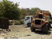 تحرير 15 محضر مخالفة بناء بدون ترخيص ورفع 280 طن قمامة بأبوقرقاص المنيا