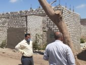 صور.. إزالة 34 حالة تعد على أرض زراعية وضبط وإيقاف مخالفة بناء ببنى سويف