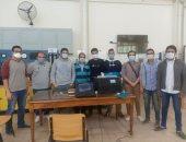 صور.. طلاب جامعة الإسكندرية يواجهون كورونا بابتكار أجهزة للتنفس الصناعى